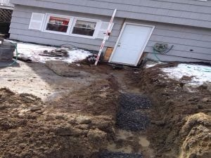Fixed Sewer Line Yarmouth Maine