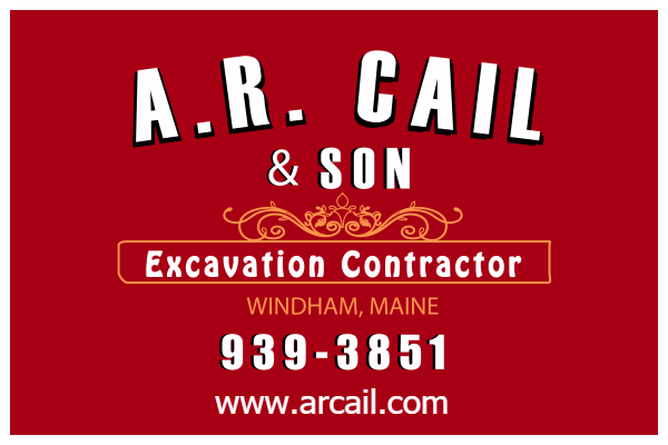 A.R. Cail Excavation Contractor in Windham, Maine