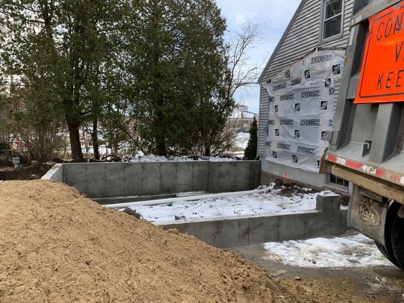Backfill Excavation Falmouth Maine