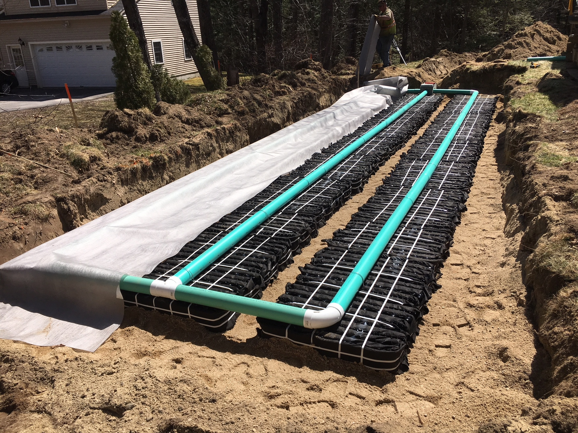 Windam, Maine Septic System Installation